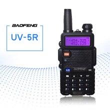 BaoFeng UV 5R Walkie Talkie Two Way Radio FM Transceiver Interphone Dual band DTMF Encoded VOX