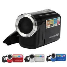 Alta Calidad A160 HD Zoom Digital 8X Grabadora de Vídeo Mini cámara de 16mp 1.44 TFT LCD de Pantalla DV Fotografía DVR