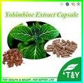 100% Natural e Puro Yohimbine Extrato Cápsula 10:1 500 mg * 400 pcs
