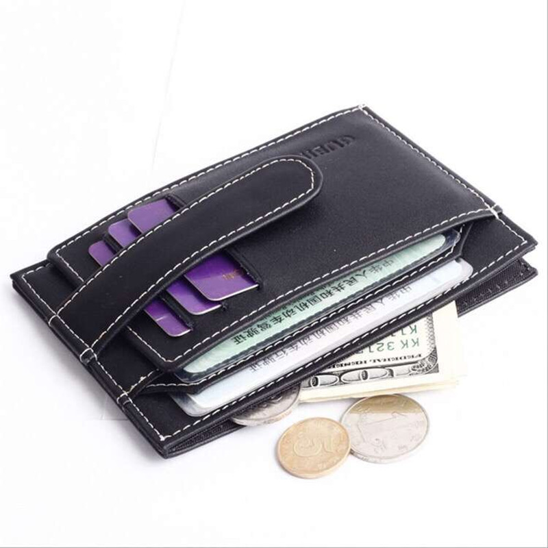 Credit Card Holder Wallet & Drivers License Classic Designer Business id Card Case Top Leather Bank Card Holder Card Protecto