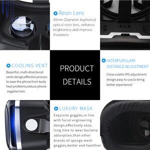 Image 4 - Shinecon 6,0 Virtuelle Realität Smartphone 3D Gläser VR Headset Stereo Helm VR Headset mit Fernbedienung für IOS Android