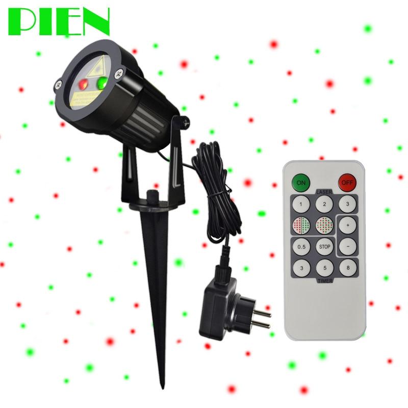 Holiday LightingChristmas Projector Laser Lights Outdoor Waterproof + RF Wireless Remote & Power plug for Xmas garden decor