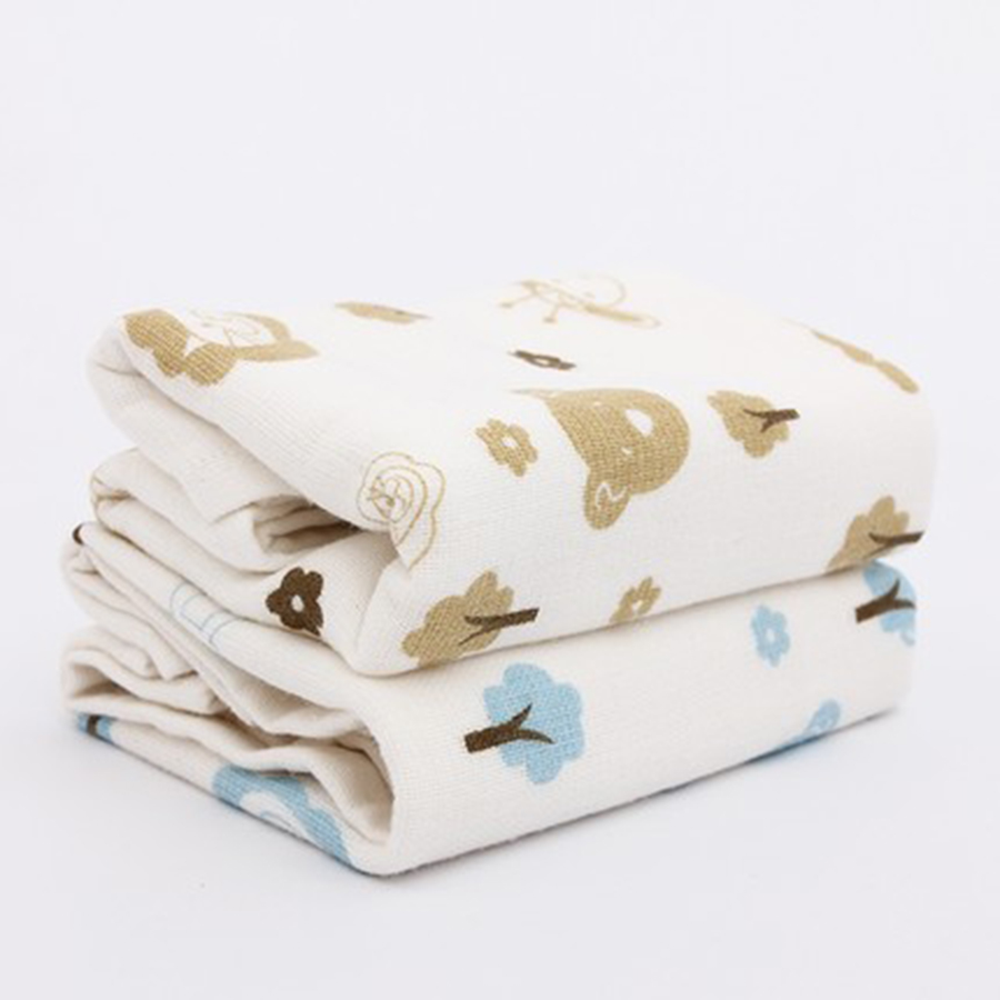 0-3 Baby Newborn Towel Cotton Gauze Wipes Muslin Solid Cute Luxury Handkerchief Baby Feeding Towel Saliva Infant 70A0206