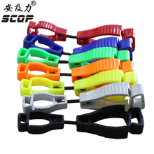 Safety Glove Guard Clip Holder plastic working clamp For Protective Hand clip Glove AT-1 Wholesale Glove-Clip