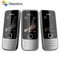 2730 Original do telefone Nokia 2730 telefones Baratos GSM Desbloqueado WCDMA 3G telefone com teclado Russo Frete grátis