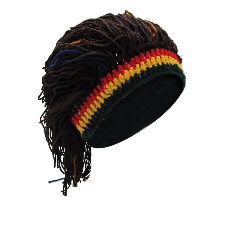 Smart Wig Caps Beanie Men Winter Warm Hat Handmade Hunting Caps