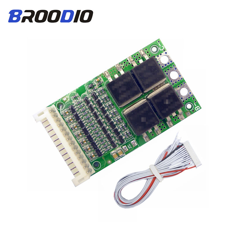 BMS 6S 7S 8S 9S 10S 11S 12S 13S 4.2V 25A Adjustable BMS Lithium Li-ion 18650 Battery Pack Protection Balancer Equalizer Board
