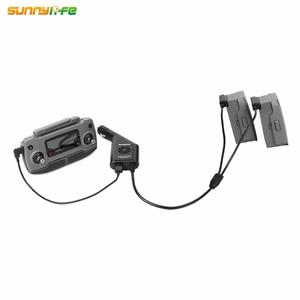 Image 5 - Cargador de coche de batería DJI MAVIC 2 3in1 con puerto USB cargador de control remoto para DJI MAVIC 2 PRO y ZOOM drone Accesorios