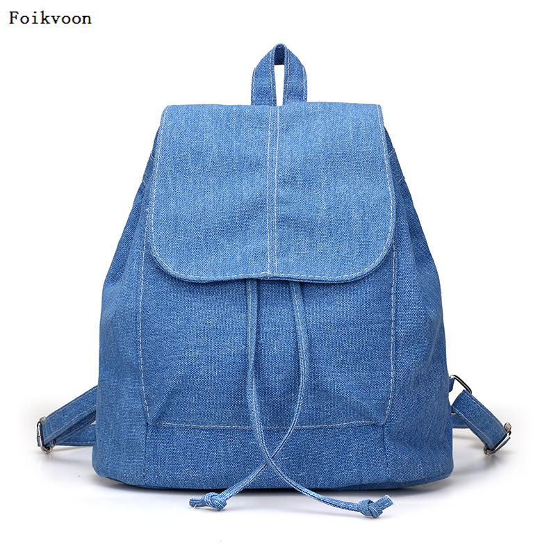 Foikvoon Canvas Women Backpack College High Middle School Bags For Teenager Boy Girls Laptop Travel Backpacks Mochila RucksacksFoikvoon Canvas Women Backpack College High Middle School Bags For Teenager Boy Girls Laptop Travel Backpacks Mochila Rucksacks