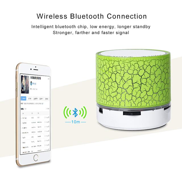 Elough Mini Bluetooth Speaker Car Music Center Portable Speaker For Phone Hoparlor Wireless Bluetooth Speaker Computer Speakers