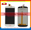 "High Quality 5.0"" For Acer Liquid Z530 Full Lcd Display Touch Screen Digitizer Assembly Complete Panel Lens Black White+Tracking"