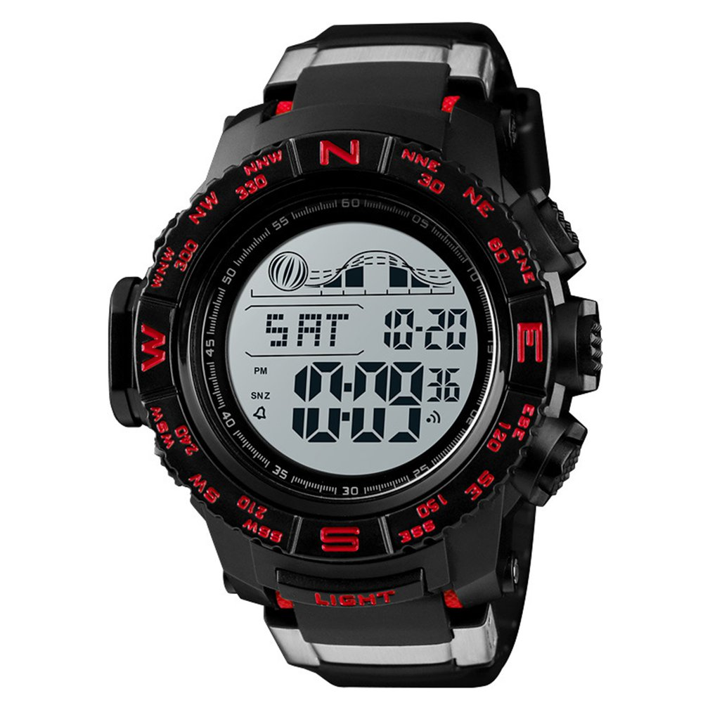 Top Brand Multifunction LED Digital Watch 50m Waterproof Electronic Alarm Clock Outdoor Sports Watch Dropshipping