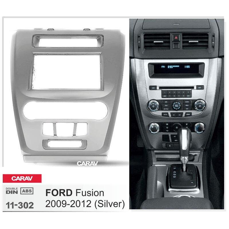carav 11 302 car radio facia for ford fusion 2009 2012. Black Bedroom Furniture Sets. Home Design Ideas