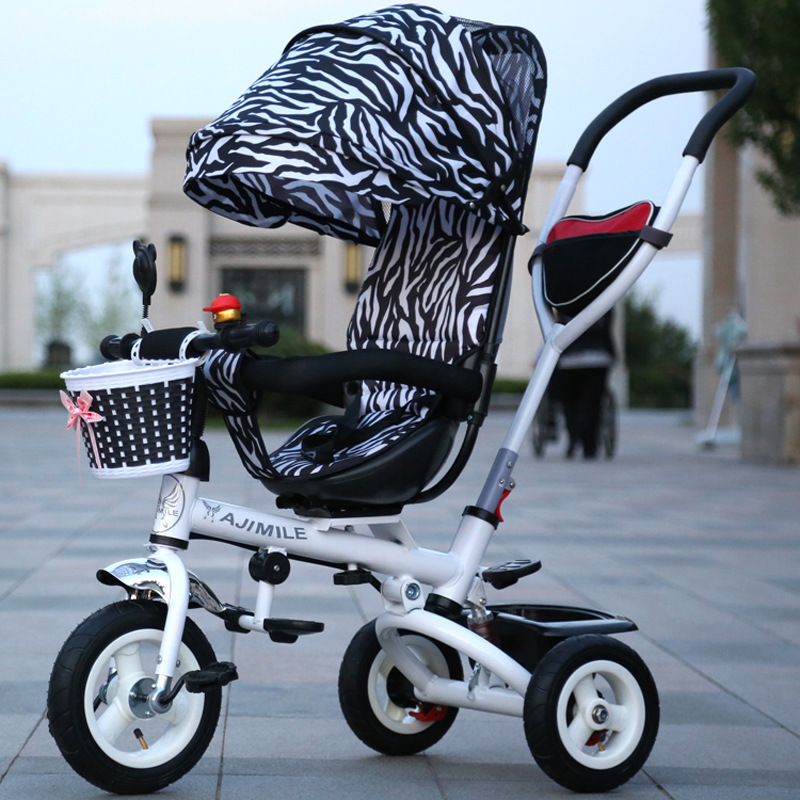 Baby stroller 3 in 1 Folding children tricycles bicycles inflatable baby trolleys baby bicycle stroller free shipping to Russia