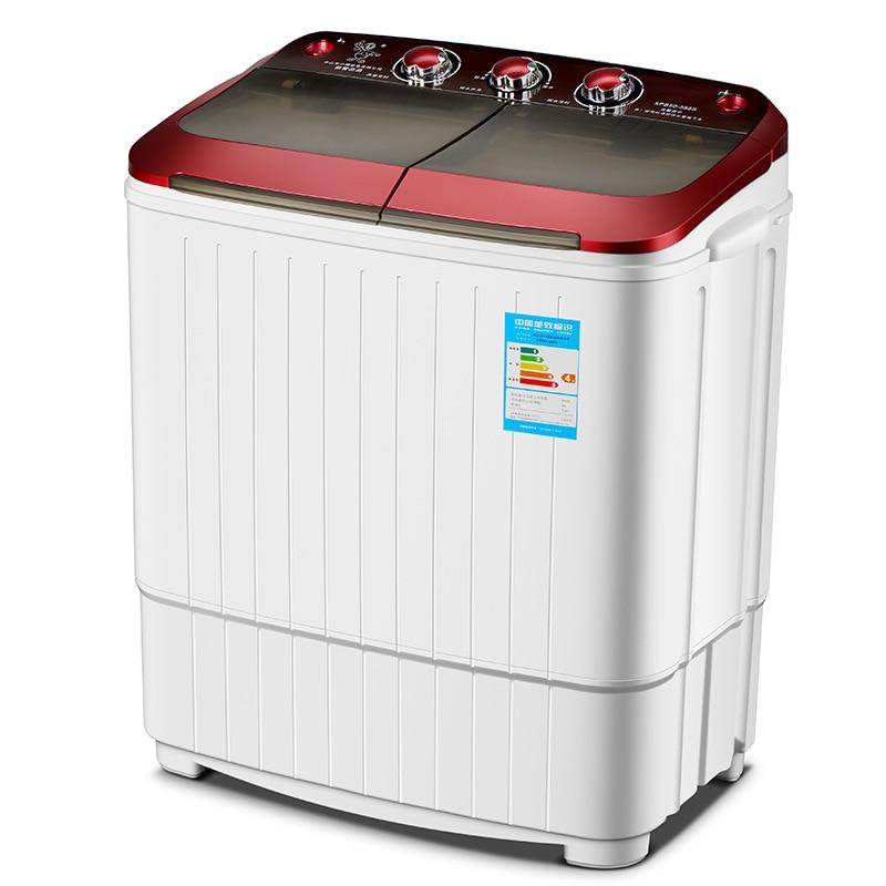 5 kg twin banheira mini família lavadora portátil máquina de lavar e secador mini portátil máquina de lavar roupa carga superior dropshipping
