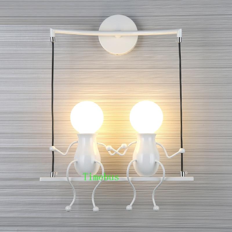 Moderne led Wandlamp LivingRoom Ijzer led Vanity Light Slaapkamer Nachtkastje Wandkandelaar Badkamer led Spiegel Licht Industriële Wandlamp - 6