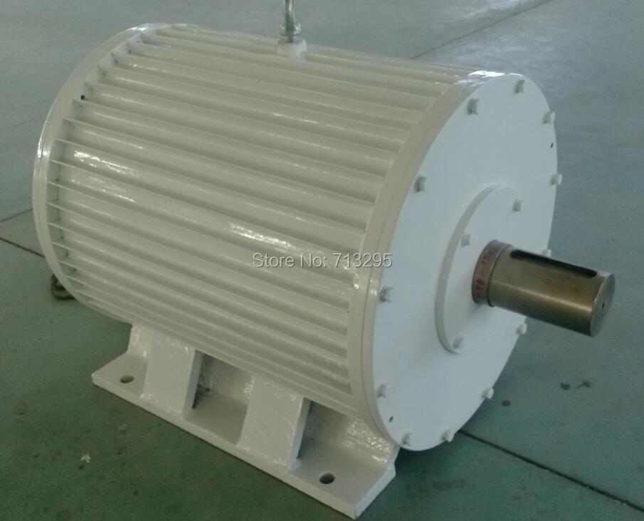 High quality 20KW 150RPM 400VAC low rpm horizontal wind & hydro alternator/ permanent magnet water power dynamotor hydro turbine