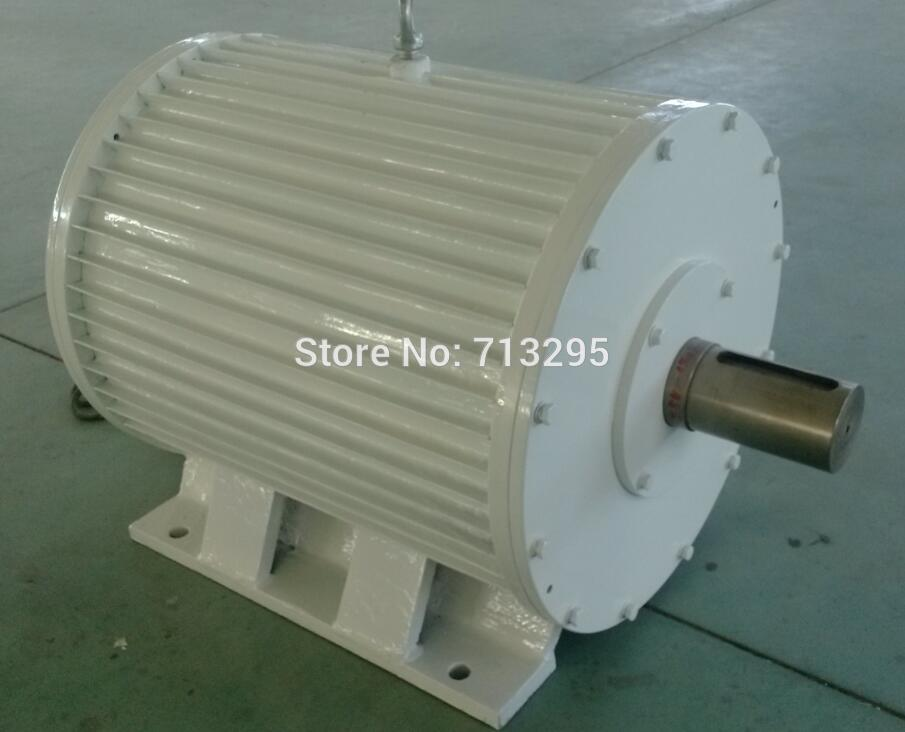 ✅High quality 20KW 150RPM 400VAC low rpm horizontal wind & hydro ...