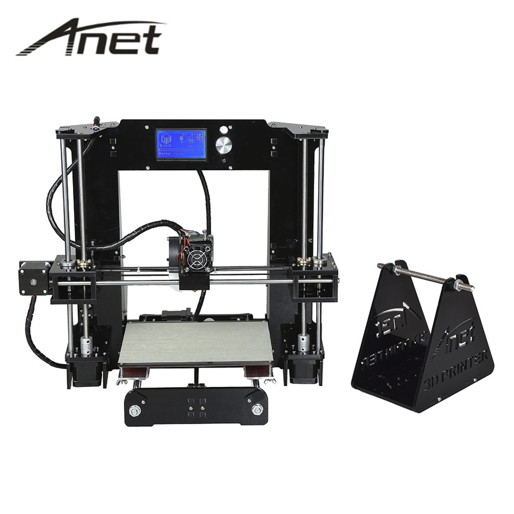 A6 3D printer prusa i3 A6 A8 3d printer SD card plastic shipping from MOSCOW with