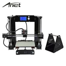 A6 3D принтер reprap prusa i3 3Д принтер 3д принтерновая версия 2017 года, высокая точность печати,16 ГБ карта памяти пластик для теста в подарок, сопла на разных диаметры, доставка из Москвы