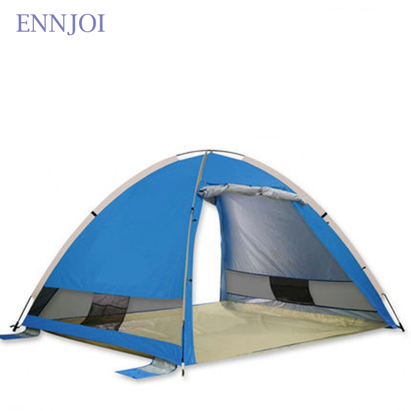 Sun Shelter Tent for Beach Summer Outdoor UV Protection Tarp Sun Shelter Camping Fishing Awning Sunshade