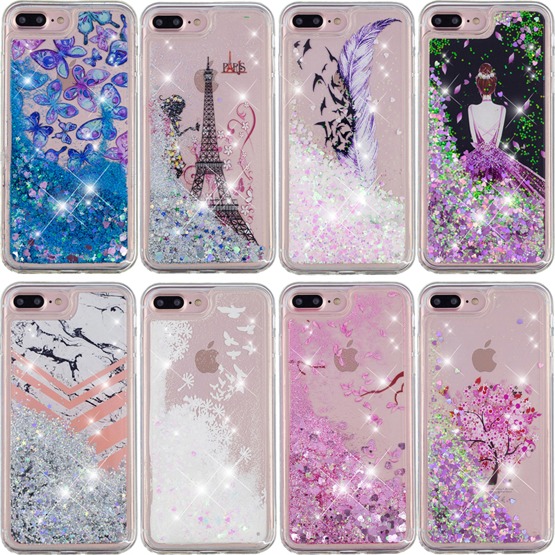 Glitter Liquid Sand Quicksand Phone Soft TPU Silicone Case Cover Shell Coque Funda for iPhone 5 5S SE 6 6S 7 8 Plus X XS MAX XRGlitter Liquid Sand Quicksand Phone Soft TPU Silicone Case Cover Shell Coque Funda for iPhone 5 5S SE 6 6S 7 8 Plus X XS MAX XR