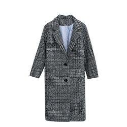 Качественное пальто в английскую клетку