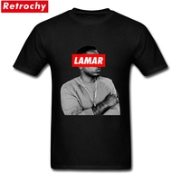 Branded Custom Designer Rapper T Shirt Kendrick Lamar Tee Men Youth Short Sleeves O Neck Cotton