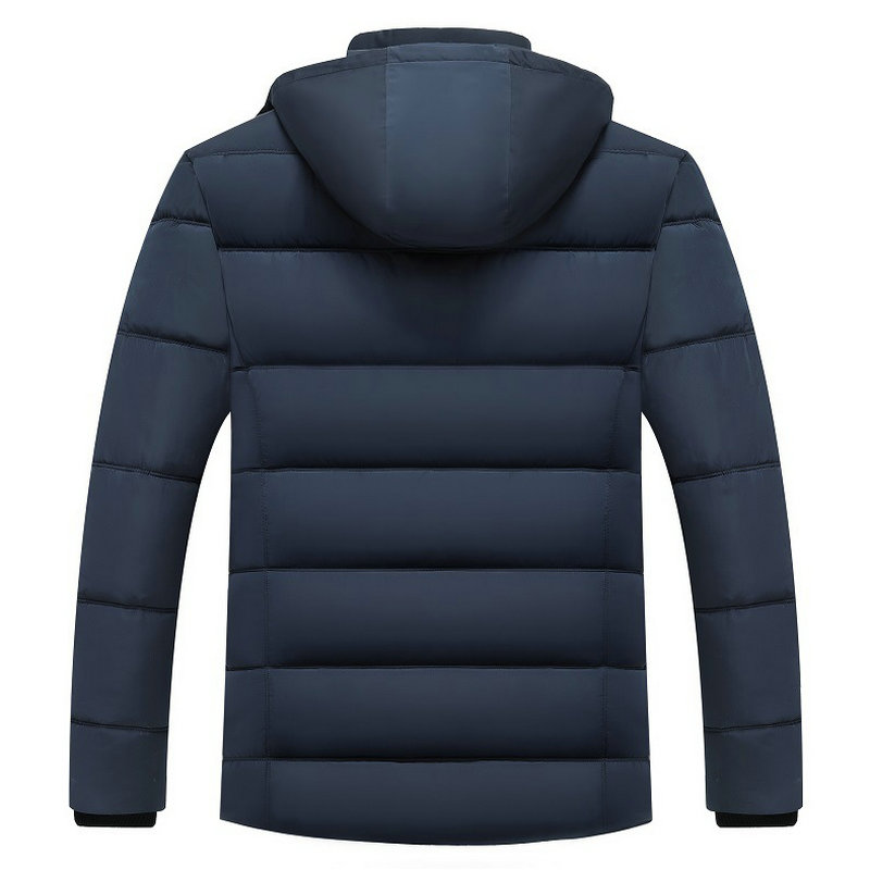 drop shipping Winter Jacket Men -20 Degree Thicken Warm Parkas Hooded Coat Fleece Man's Jackets Outwear Jaqueta Masculina LBZ31 4
