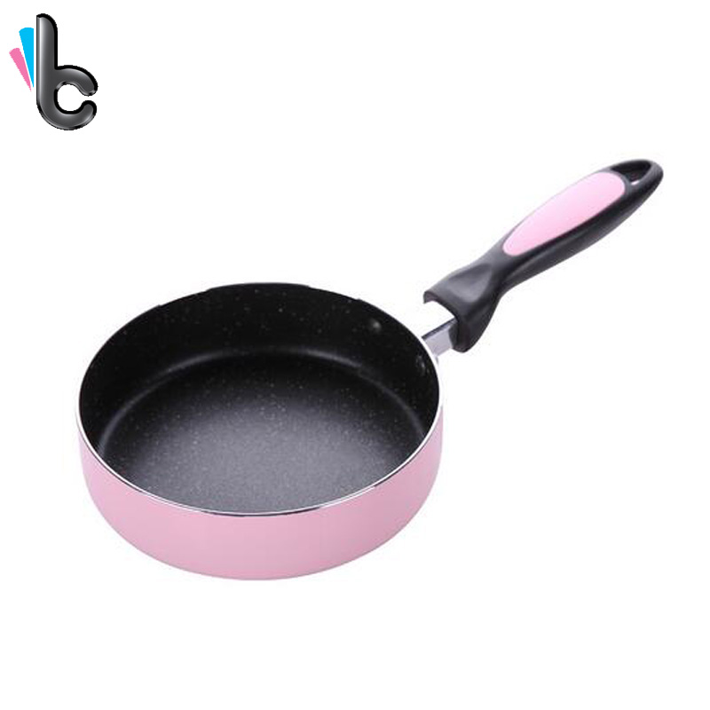 16CM Non-stick Frying Pan Saucepan Small Fried Eggs Pot Cookware Kitchen Tools Use for Gas & Induction Cooker Kitchen Helper -4
