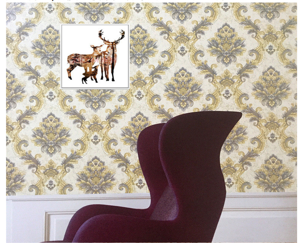 где купить beibehang Precision wallpaper Classic European non-woven 3d wallpaper Living room bedroom TV background wall papers home decor дешево