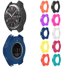 Slim Smart Watch Protective Case for Samsung Galaxy Watch 46mm R800 Cover Frame for Samsung Gear S3 Frontier Case Shell Band