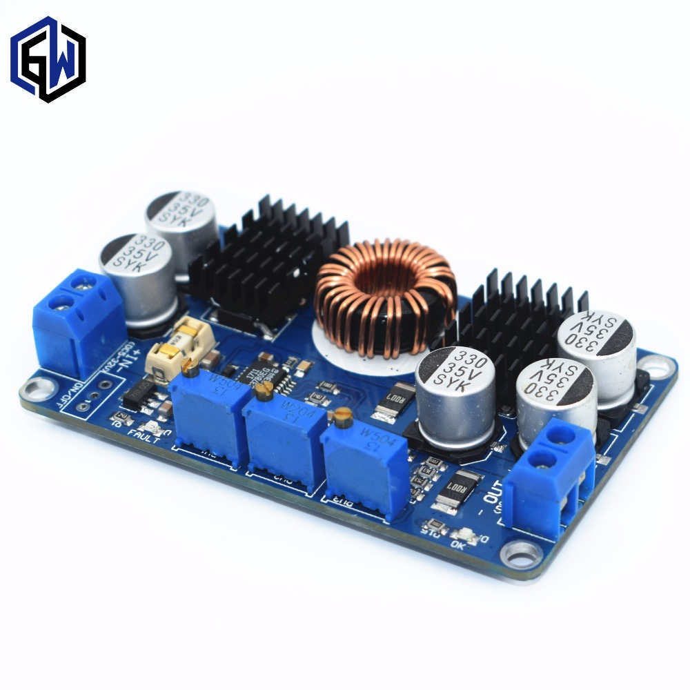 10pcs LTC3780 DC 5-32V to 1V-30V 10A Automatic Step Up Down Regulator Charging Module