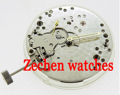 watch movement fit parnis mens watch 17 Jewels 6498 Hand winding Mechanical Movement