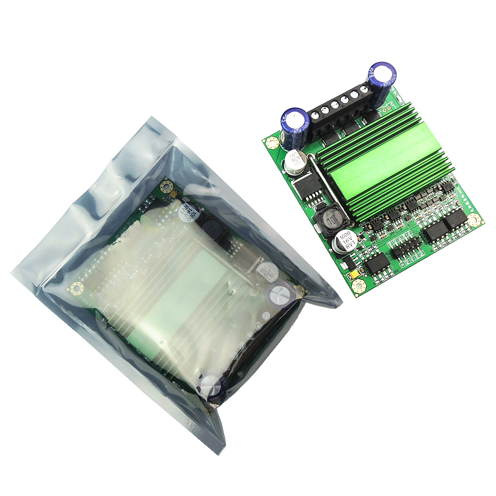 Responsible 16v~60v 500w High Power Dual Dc Motor Drive Plate Motor Drive Module H Bridge Drive A Great Variety Of Goods Home Appliance Parts Home Appliances