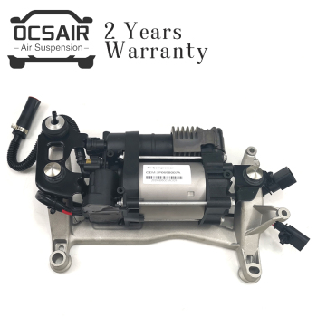 OEM Fit for Volkswagen Touareg NF II / New Cayenne II 92A Air Suspension Compressor Pump with Bracket 7P0698007A 95835890101