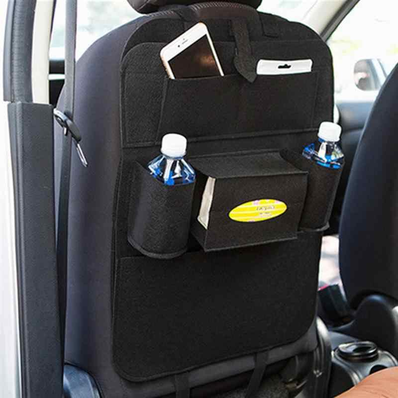1 пара автомобилей сумка для хранения Universal Box заднее сиденье мешок Организатор сиденье держатель 6 карман стайлинга автомобилей протектор для детей игрушки коробка