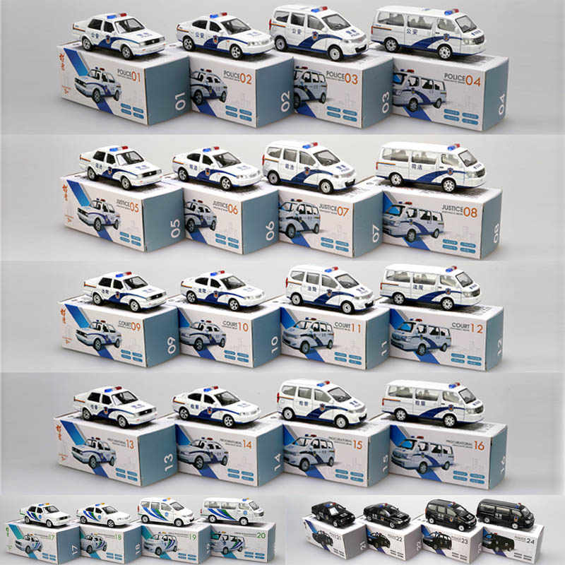 1/64 Alloy Urban Management Law Enforcement Police Cars Model Toy City Die Cast Vehicle Toys Car For Children
