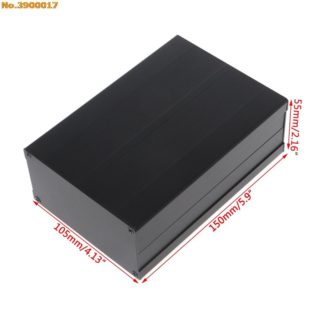 150x105x55mm DIY caja de aluminio caja electrónica del proyecto caja del instrumento de la PCB 2018 nuevo
