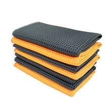 高品質 40 × 40 センチメートル新ソフトマイクロファイバータオルカークリーニングウォッシュきれいな布カーケアマイクロファイバーワックス研磨ディテールタオル
