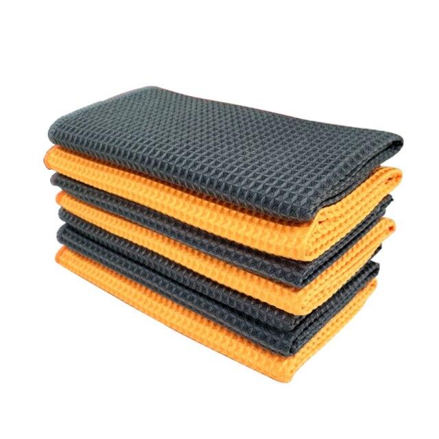 Высокое качество 40x40 см Новое мягкое полотенце из микрофибры для мытья автомобиля чистящая ткань уход за автомобилем микрофибра воск полировка детализация полотенца