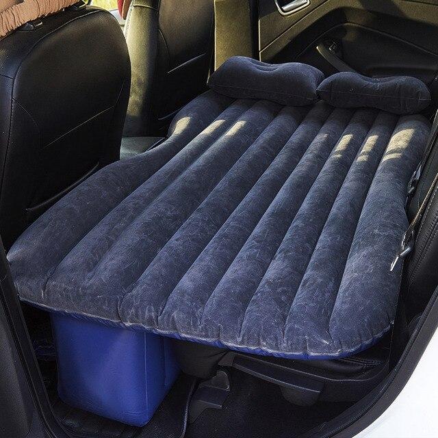 Надувная кровать для заднего сиденья автомобиля, ПВХ, надувная дорожная кровать, надувной матрас для кемпинга