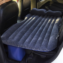 Car Back Seat Inflatable Bed PVC Inflatable Travel Bed PVC Airbed Mattress for Camping