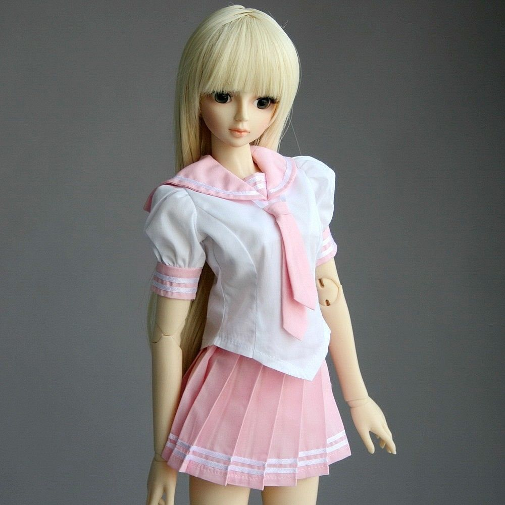 [wamami] 251# Japanese Japan School Uniform Anime Lolita Dress 1/3 SD AOD DOD BJD Dollfie шорты kalais цвет розовый