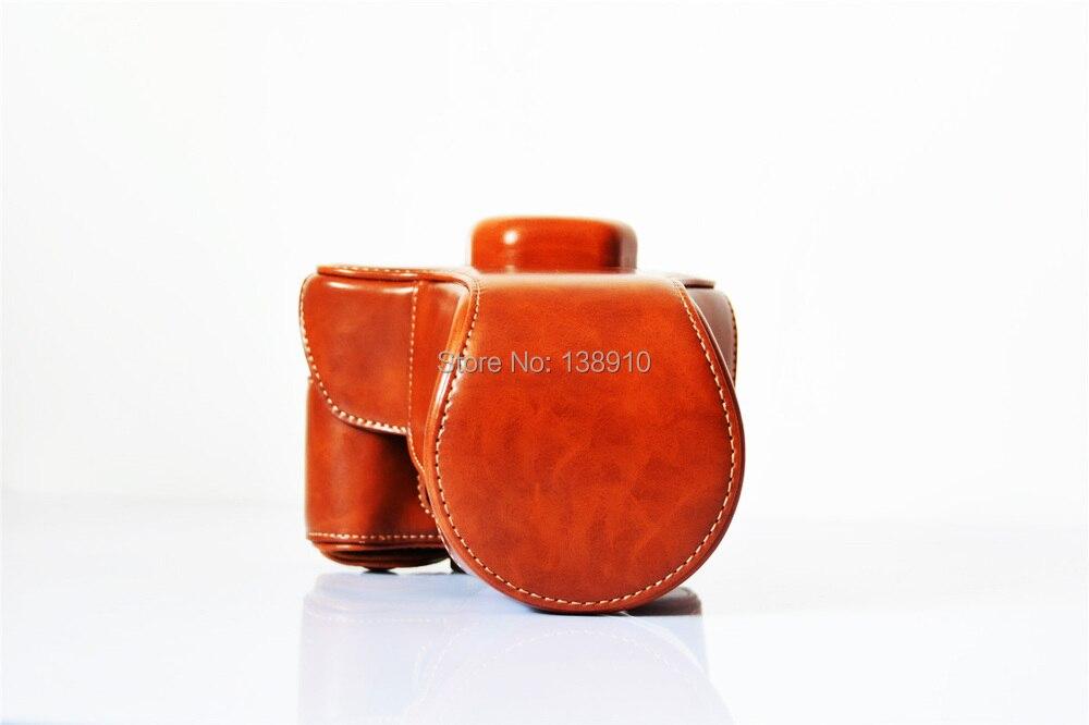 2015 ultima In Pelle PU Camera Bag Custodia smooth Per Fujifilm Fuji XT10 X-T10 XT-10 Dedicato SLR Fotocamere Borse Della Cassa Cove