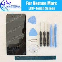Vernee Mars écran LCD + écran tactile 100% Original LCD numériseur panneau de verre remplacement pour Vernee Mars + outils + adhésif