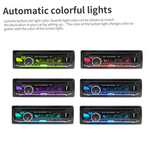 12V Bluetooth3.0+ EDR Vehicle Electronics In-dash MP3 Audio Player Car Stereo FM Radio with USB/SD/MMC/TF Card Port 12v car radio vehicle electronics in dash mp3 audio player hifi car stereo with 4 loudspeakers fm stations mp3 wma usb sd port