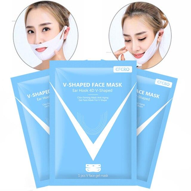 Miracle V-Shaped Mask Lifting Face Neck Mask Eliminate Edema Firming Thin Face Slimming Bandage Peel-off Mask Skin Care EFERO 5