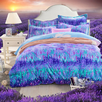 Hongbo 3 Pcs/Set4 Pcs/Set Beautiful Fashion Velvet Flannel Fabric Bedding Set Duvet Cover Printed Soft Thick Warm