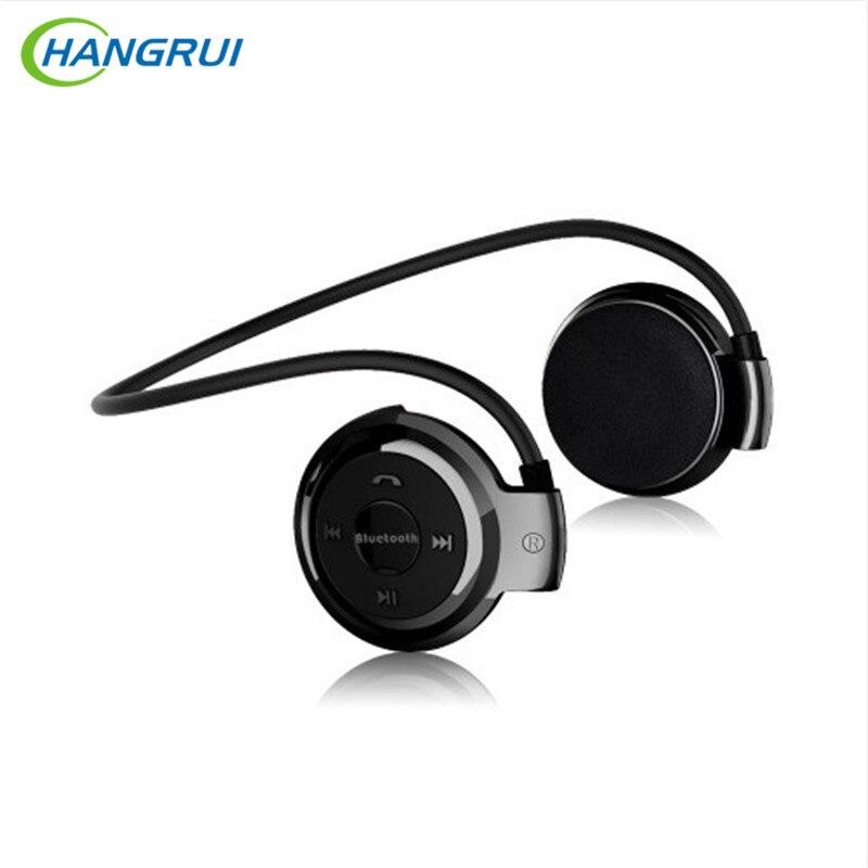 HANGRUI Mini 503 Bluetooth Kopfhörer Headset Mit Mic Sport Drahtlose Kopfhörer + Micro SD Karte Slot HiFi Musik Stereo ohrhörer